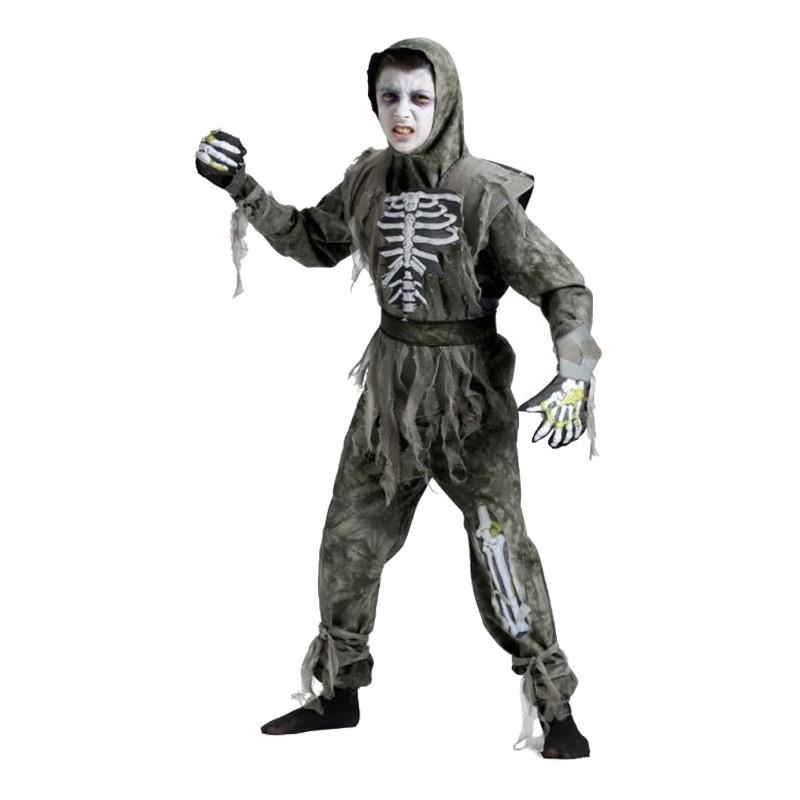 Zombie Barn Maskeraddräkt - Medium