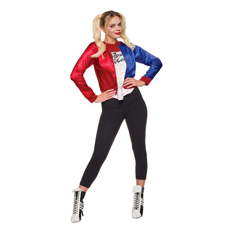 Harley Quinn Budget Maskeraddräkt - Small