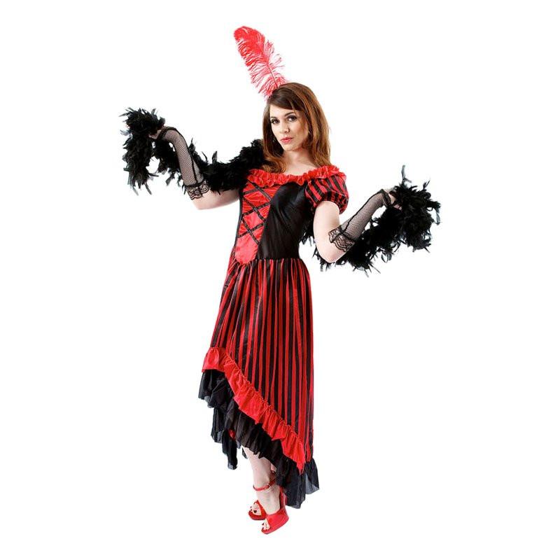 Saloongirl Maskeraddräkt - Small