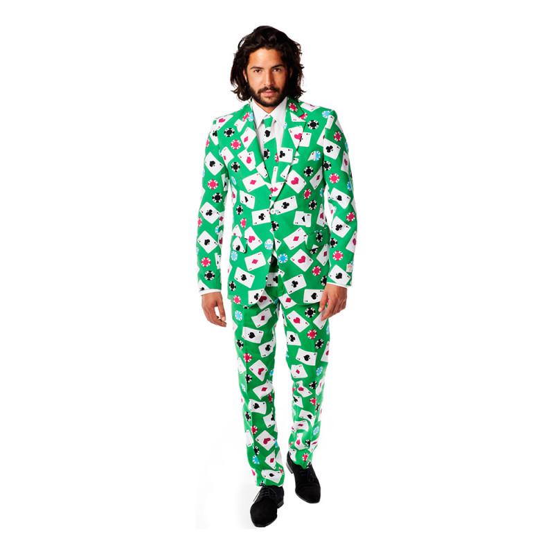 OppoSuits Pokerface Kostym - 46