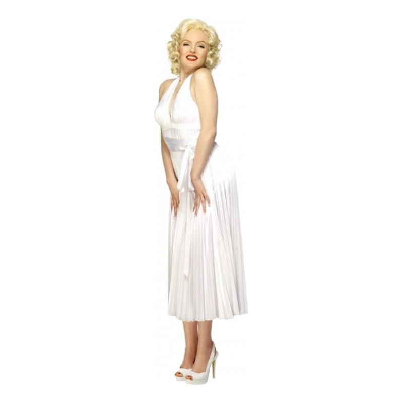 Marilyn Monroe Deluxe Maskeraddräkt - One size
