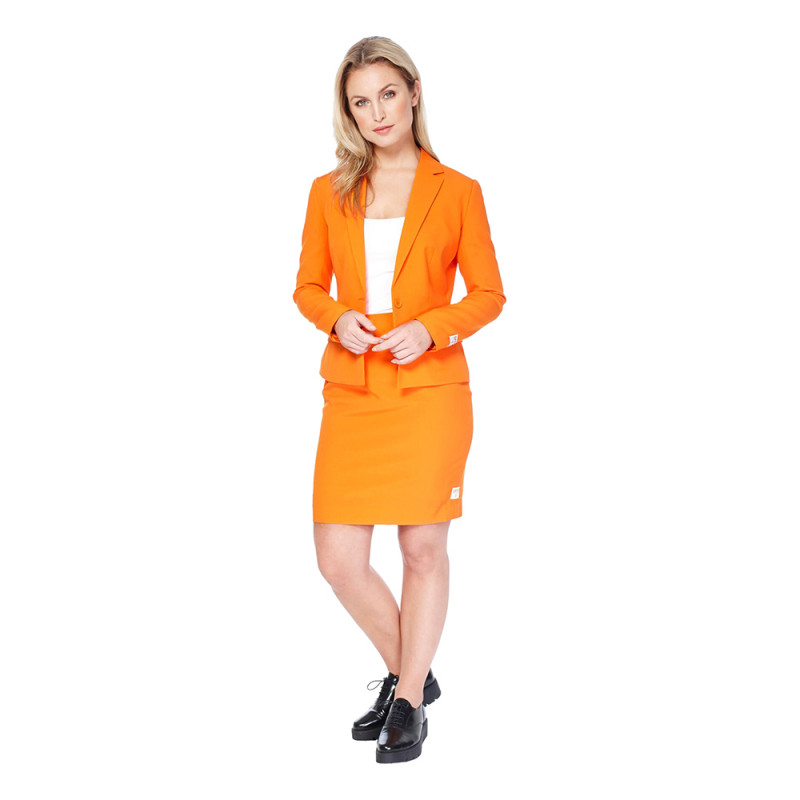 OppoSuits Foxy Orange Kostym - 34