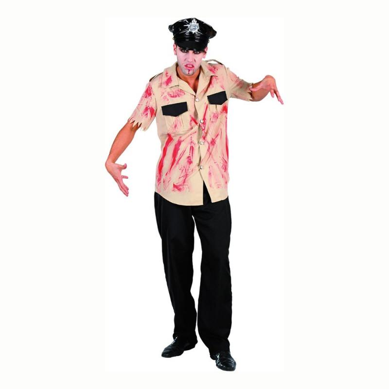 Blodig Polis Maskeraddräkt - One size