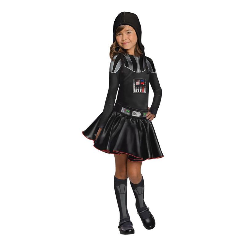 Darth Vader Klänning Barn Maskeraddräkt - Medium