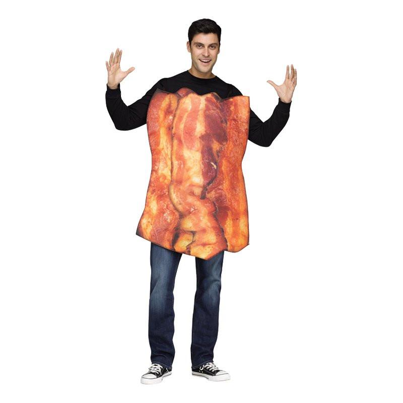 Party Bacon Maskeraddräkt - One size