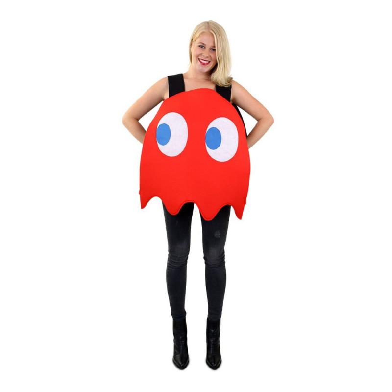Rött Spöke Maskeraddräkt - One size