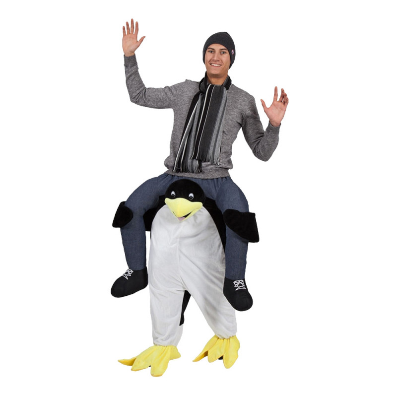 Carry Me Pingvin Maskeraddräkt - One size