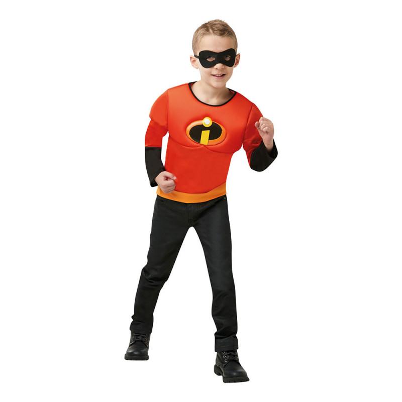 Incredibles 2 med Muskler Barn Maskeraddräkt - One size
