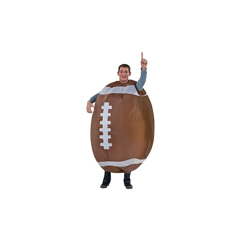 Uppblåsbar Amerikansk Fotboll Maskeraddräkt - One size