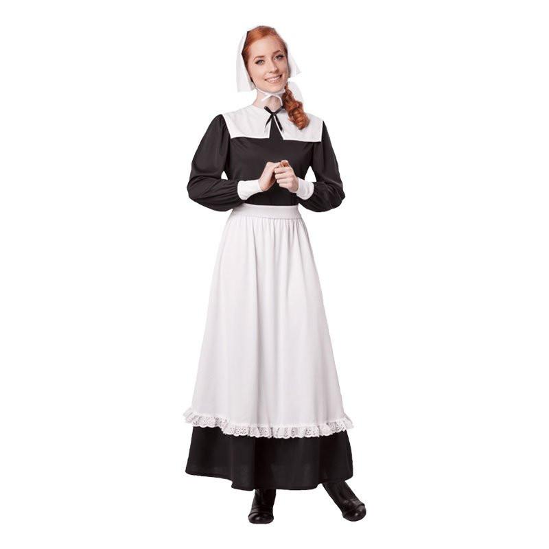Pilgrim Kvinna Maskeraddräkt - Small