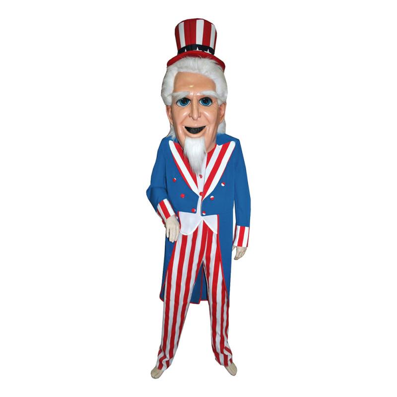 Uncle Sam Deluxe Maskeraddräkt - One size