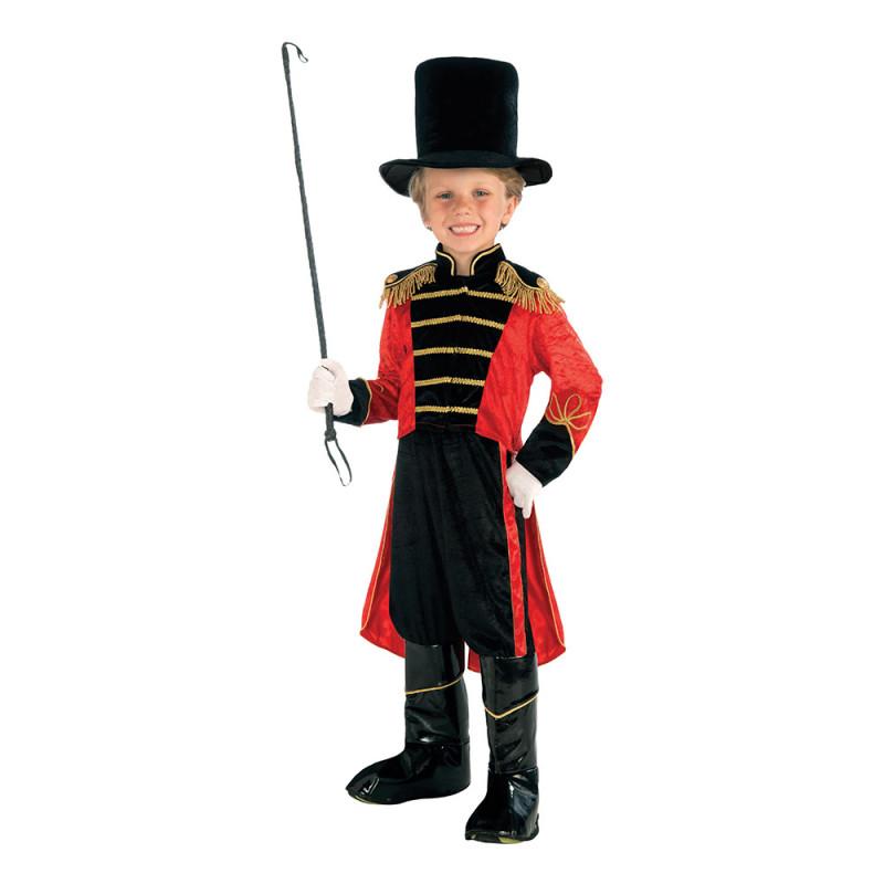 Cirkusdirektör Barn Maskeraddräkt - Small