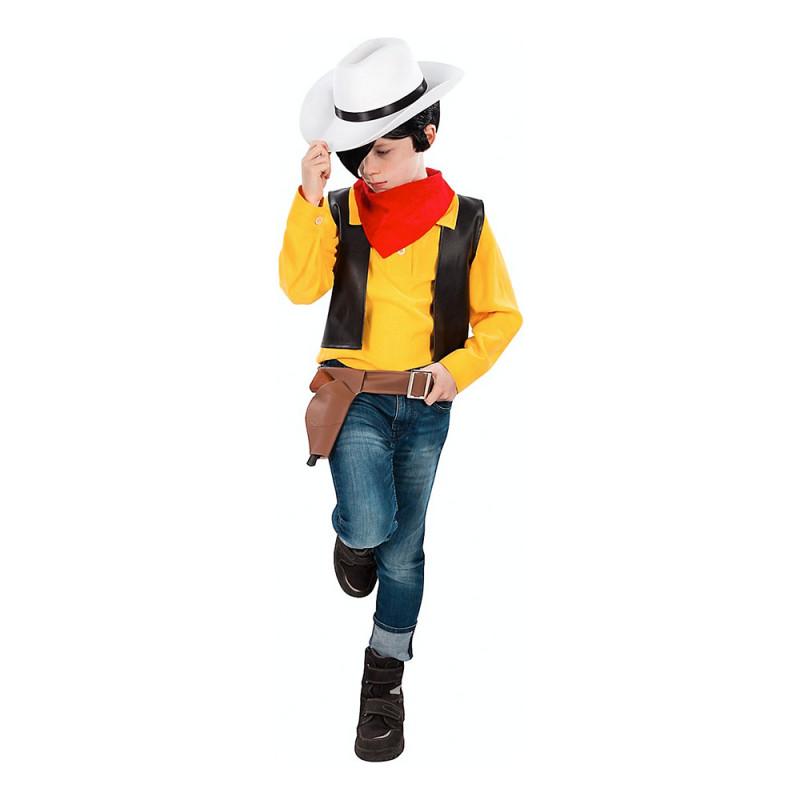 Lucky Luke Cowboy Barn Maskeraddräkt - Small