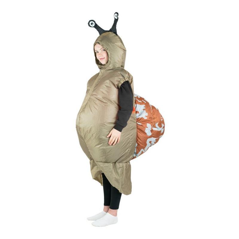 Uppblåsbar Snigel Maskeraddräkt Barn - One size
