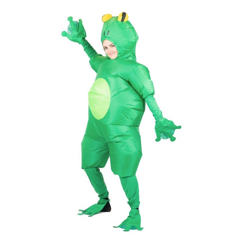 Uppblåsbar Froggy Maskeraddräkt