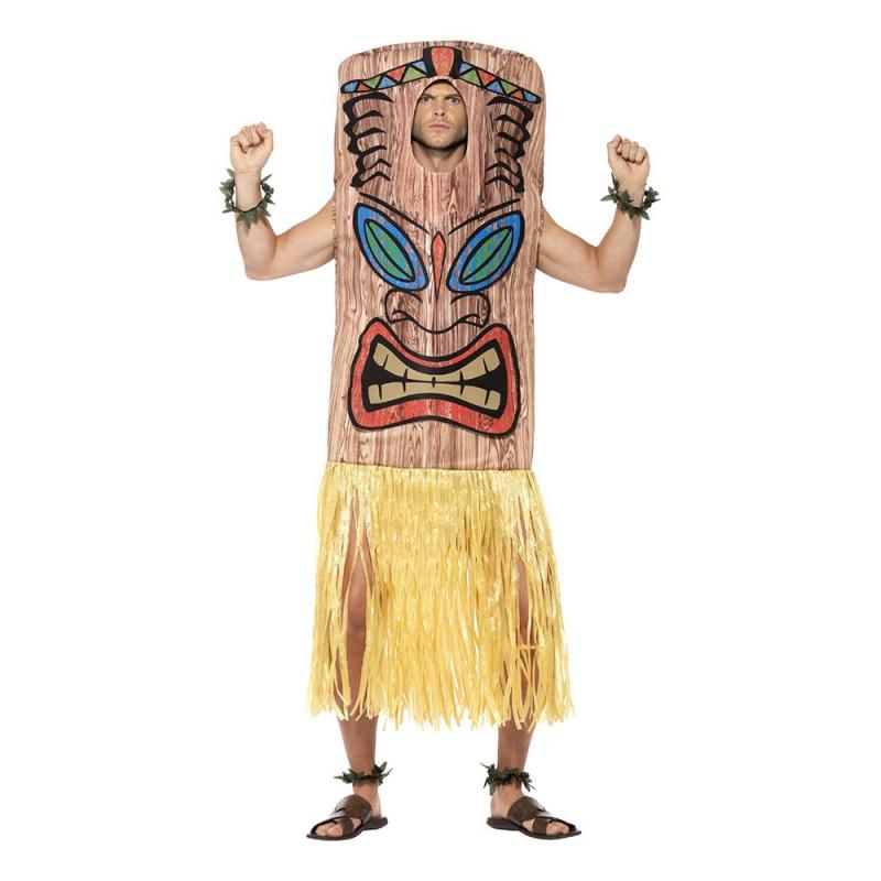 Tiki Totem Maskeraddräkt - One size