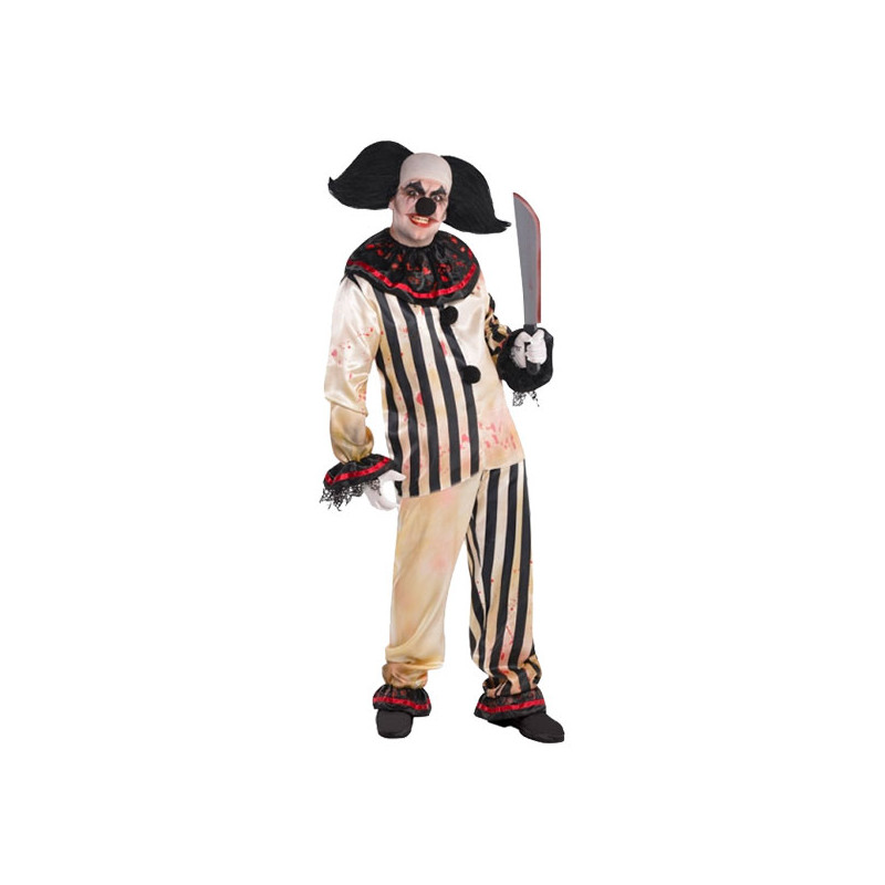 Clown Freakshow Maskeraddräkt - One size