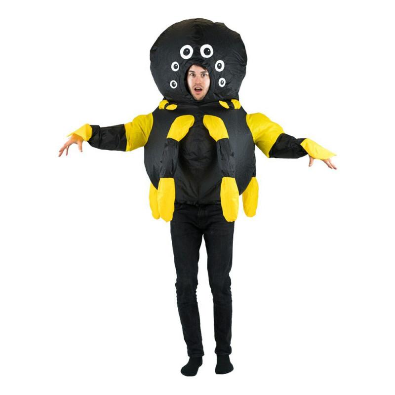 Uppblåsbar Spindel Maskeraddräkt - One size
