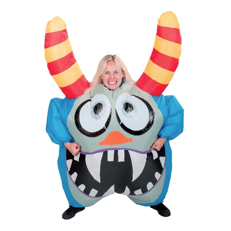 Uppblåsbart Monster Maskeraddräkt - One size