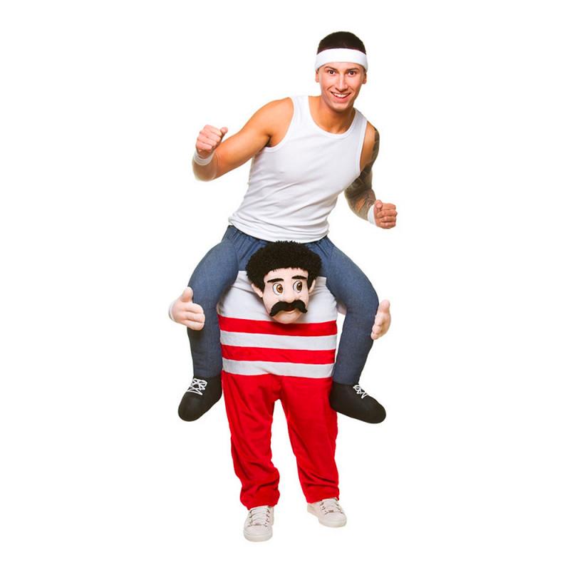 Carry Me 80-tals Atlet Maskeraddräkt - One size