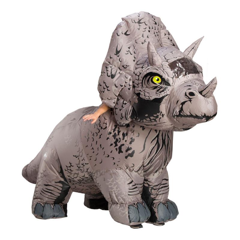 Triceratops Uppblåsbar Maskeraddräkt - One size