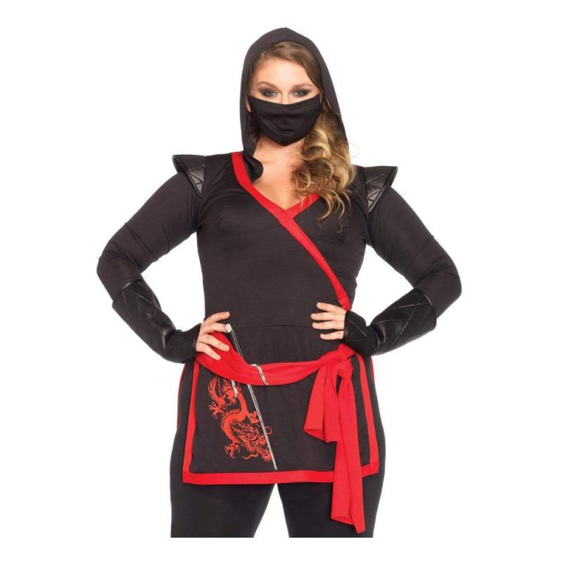 Ninja Assassin Dam Maskeraddräkt - Small/Medium