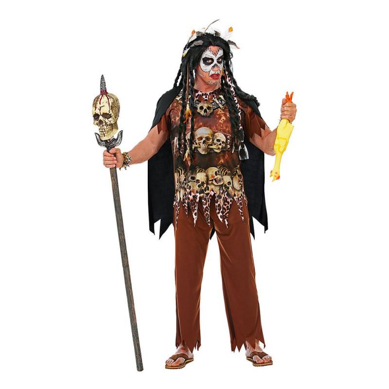 Voodoo Kung Maskeraddräkt - Small