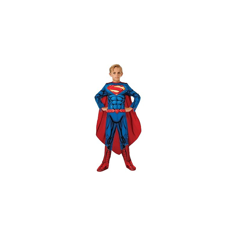 Superman New Barn Maskeraddräkt Budget - Small