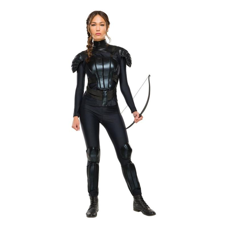 Katniss Rebell Maskeraddräkt - Small