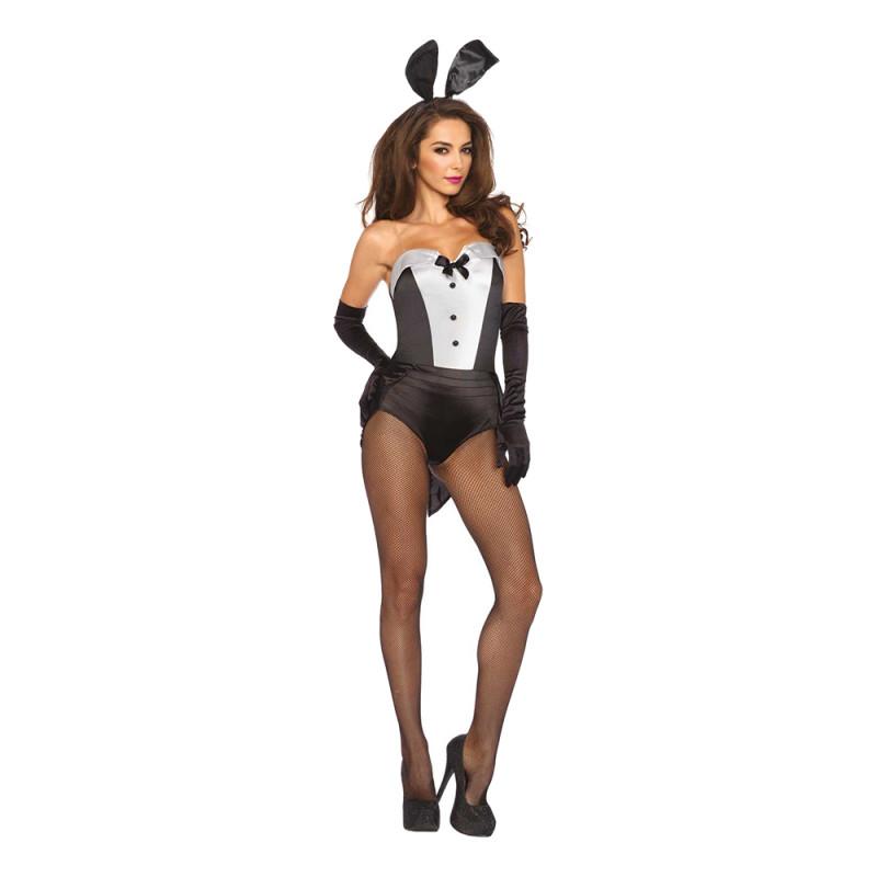 Playboy Kanin Deluxe Maskeraddräkt - Small