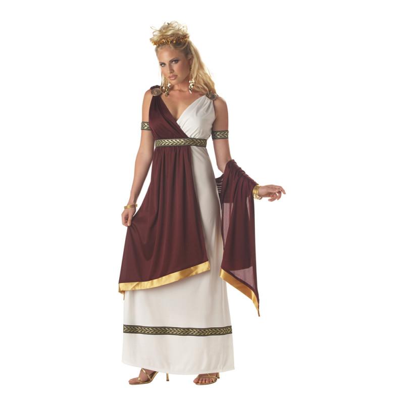 Romersk Kejsarinna Maskeraddräkt - Small