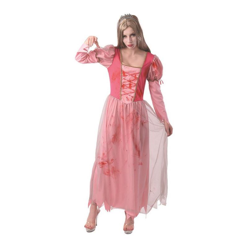Zombieprinsessa Teen Maskeraddräkt - One size