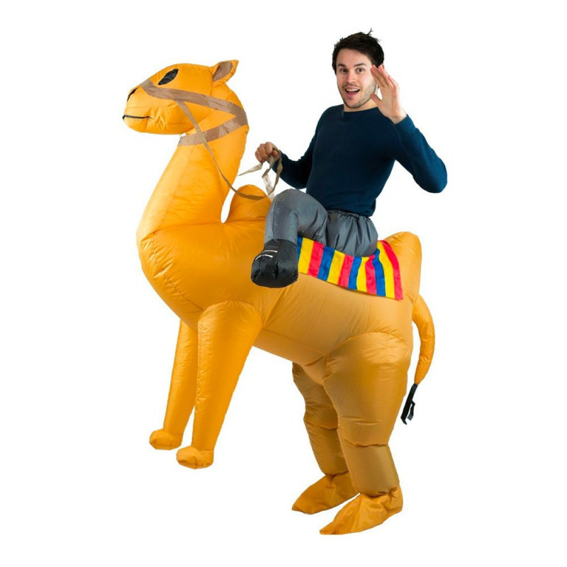 Uppblåsbar Ridande Kamel Maskeraddräkt - One size
