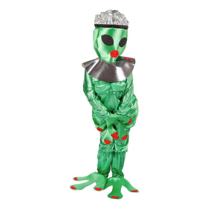 Kvinnlig Alien Maskeraddräkt - One size
