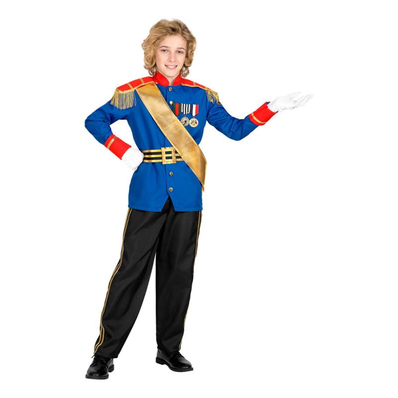 Charmerande Prins Barn Maskeraddräkt - Medium