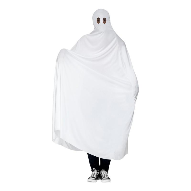 Spöke Vitt Maskeraddräkt - One size