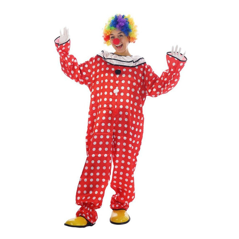 Prickig Clown Budget Maskeraddräkt - One size