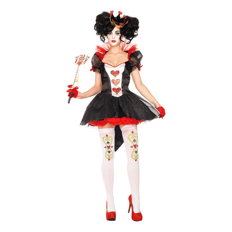 Queen of Hearts Deluxe Maskeraddräkt - Small