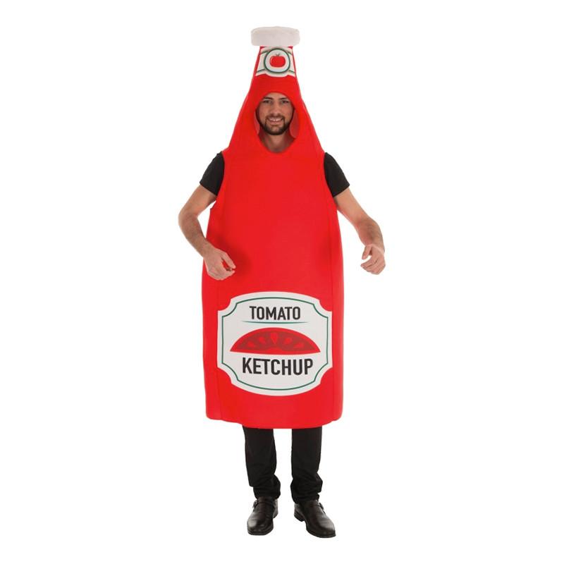 Ketchupflaska Maskeraddräkt - One size