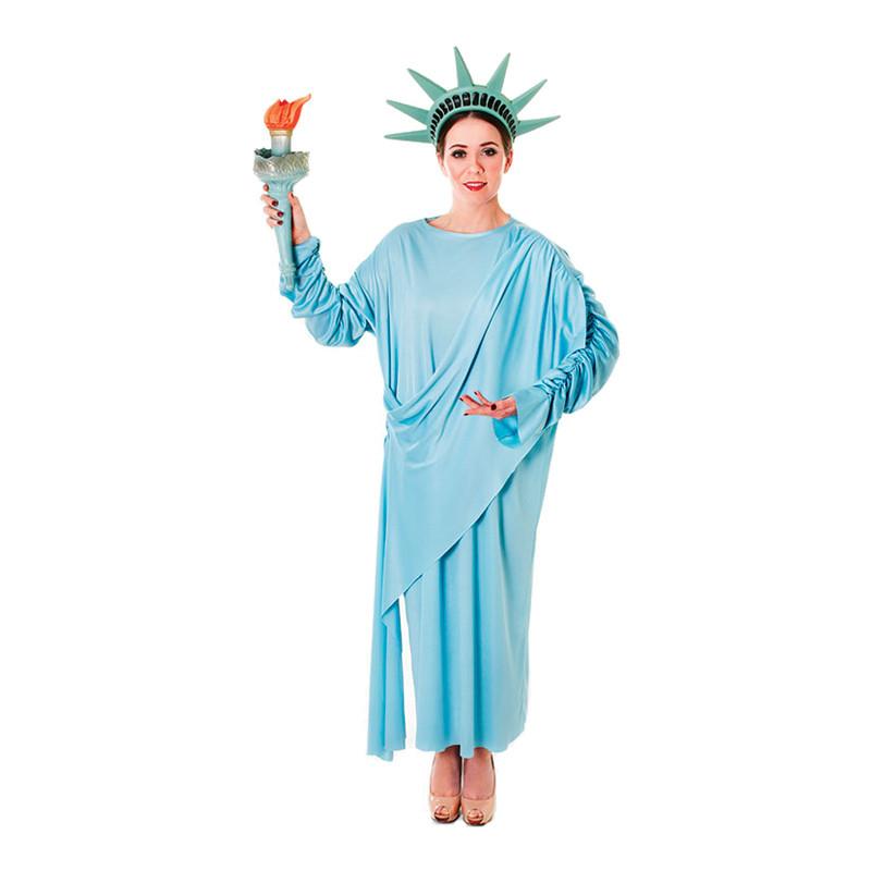 Frihetsgudinna Maskeraddräkt - One size