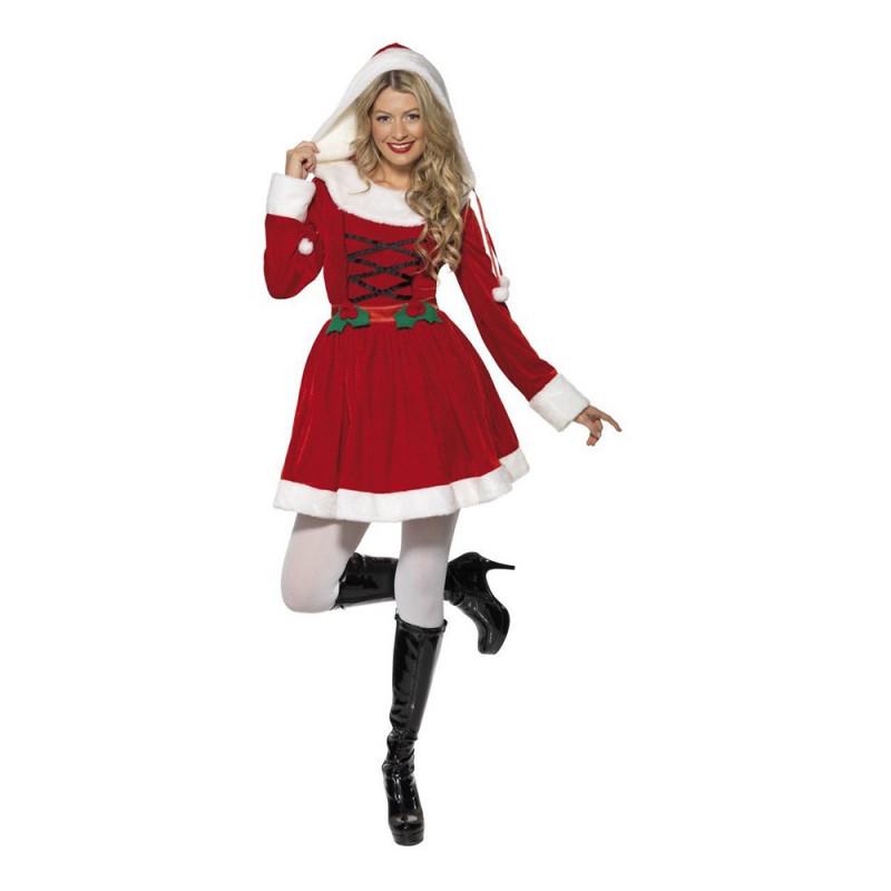Miss Santa Röd Maskeraddräkt - Small