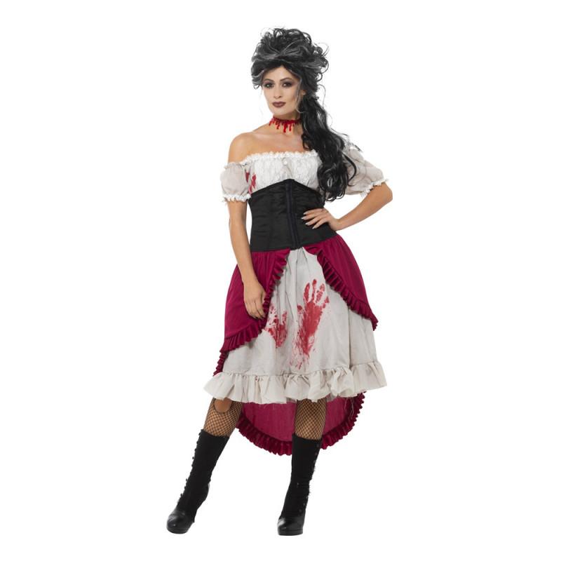 Viktoriansk Halloween Maskeraddräkt - Large
