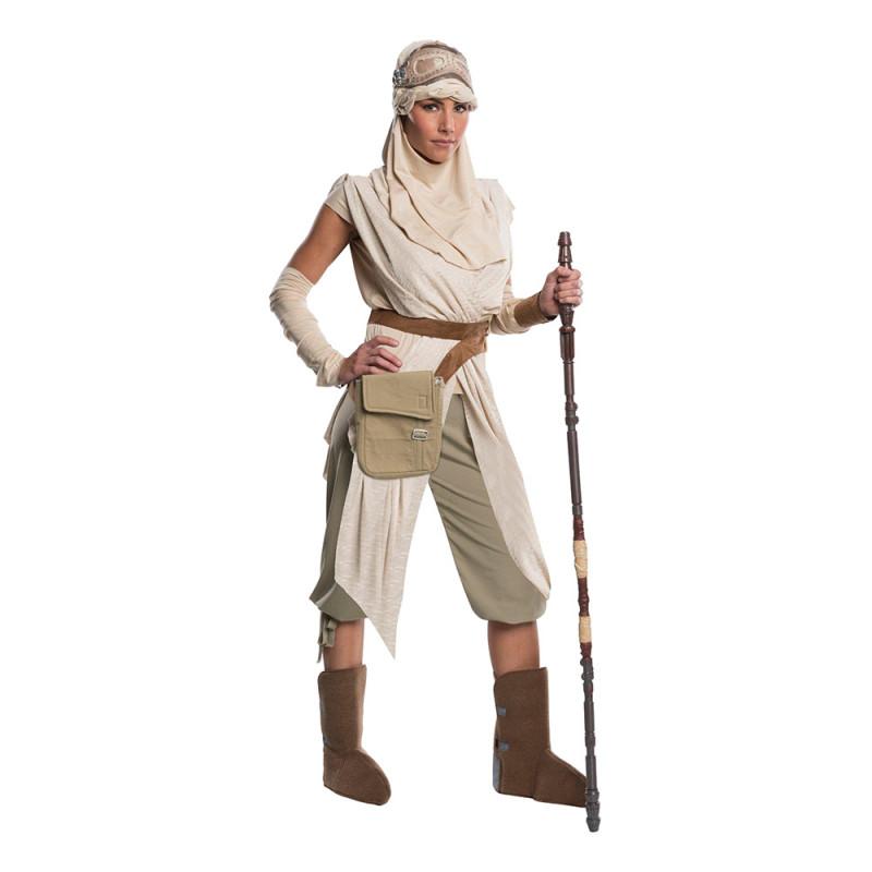 Star Wars Rey Super Deluxe Maskeraddräkt - Large