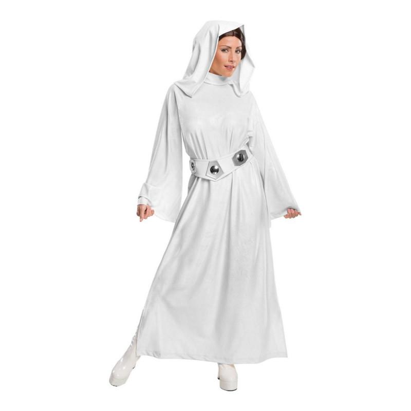 Prinsessan Leia Deluxe Maskeraddräkt - X-Small