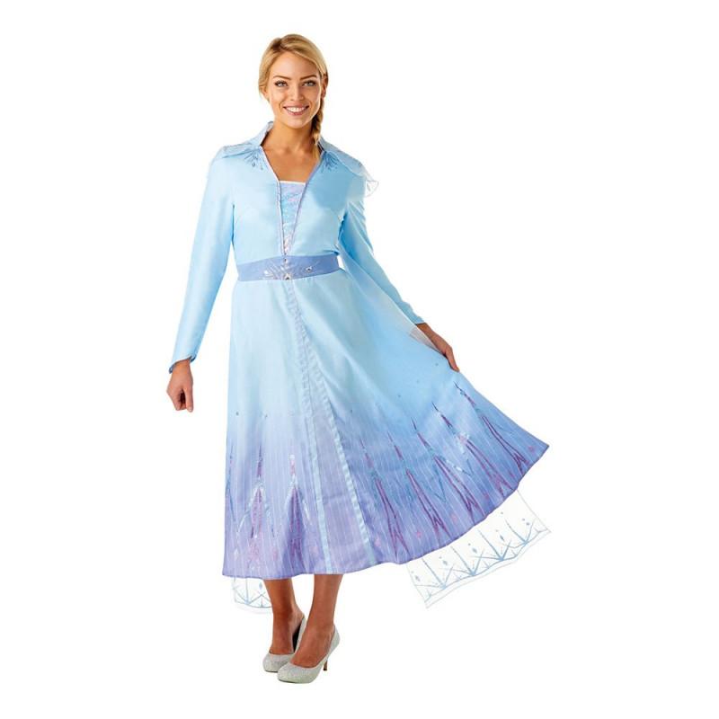 Frozen 2 Elsa Maskeraddräkt - Medium