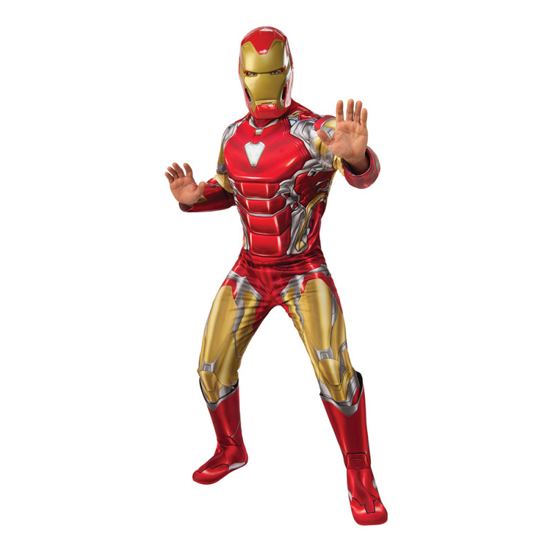 Iron Man Deluxe Maskeraddräkt - Standard