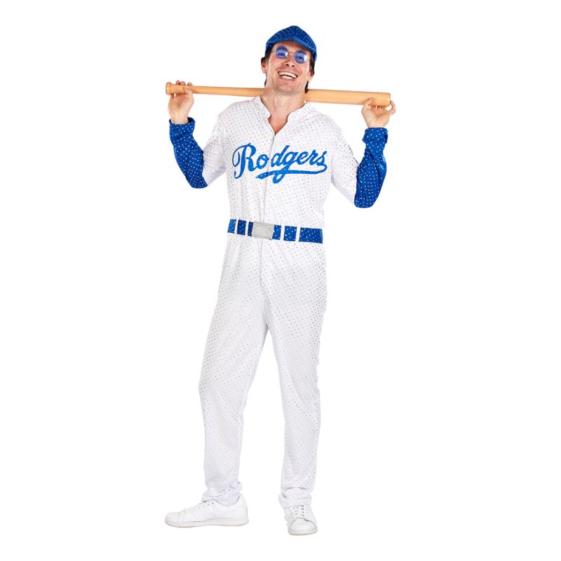 Baseballstjärna Maskeraddräkt - Standard