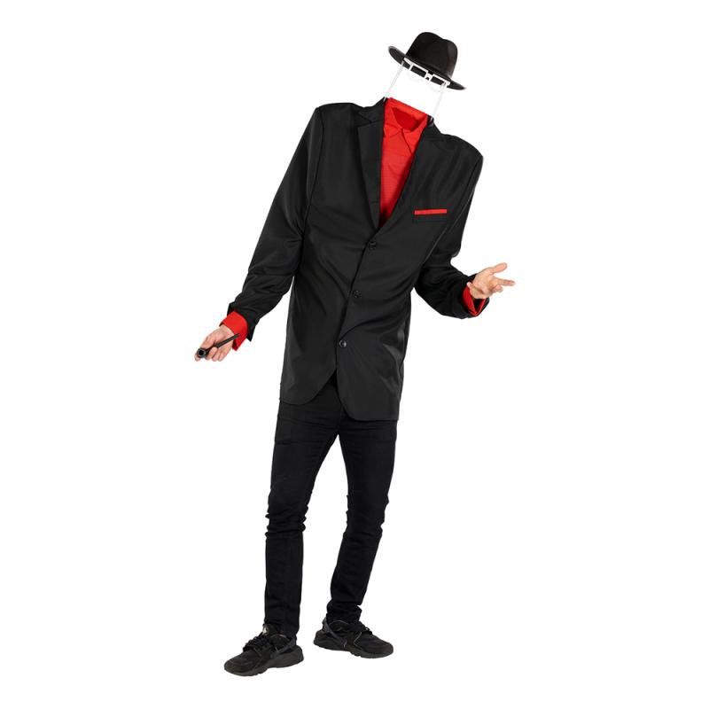 Den Osynliga Mannen Maskeraddräkt - One size