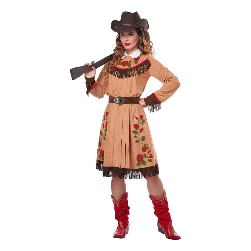 Western Cowgirl Maskeraddräkt - Small
