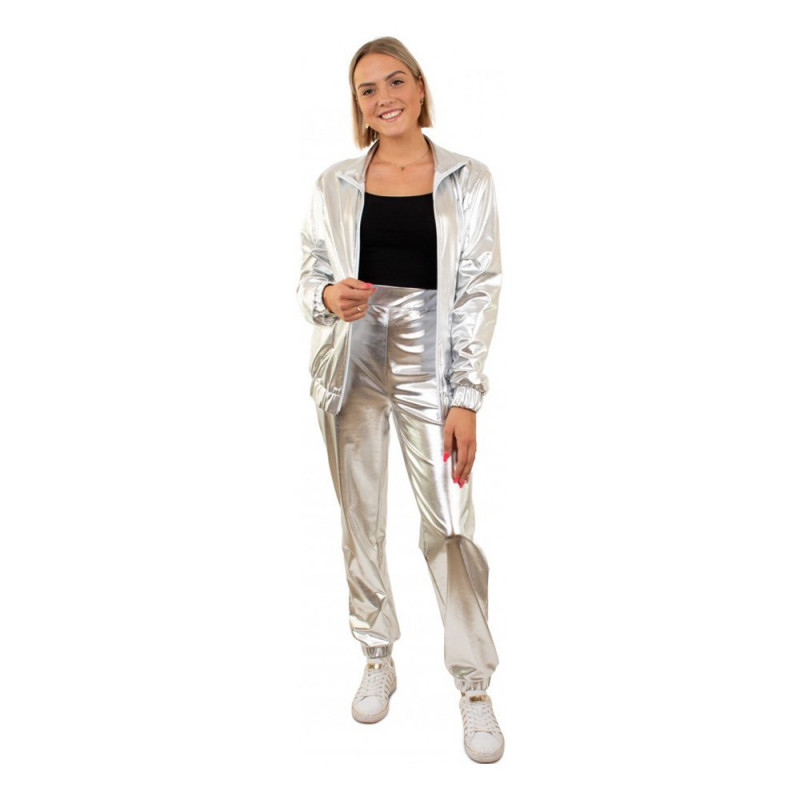 Tracksuit Silver Dam Maskeraddräkt - One size